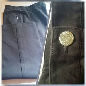Anne Klein chocolate brown pants